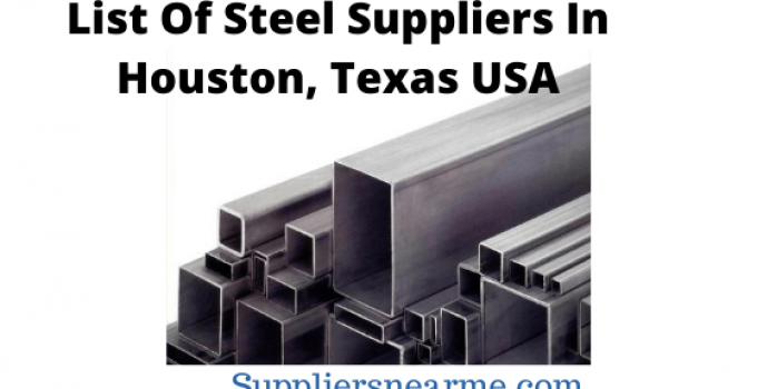List of Steel suppliers in Houston, Texas in the United States